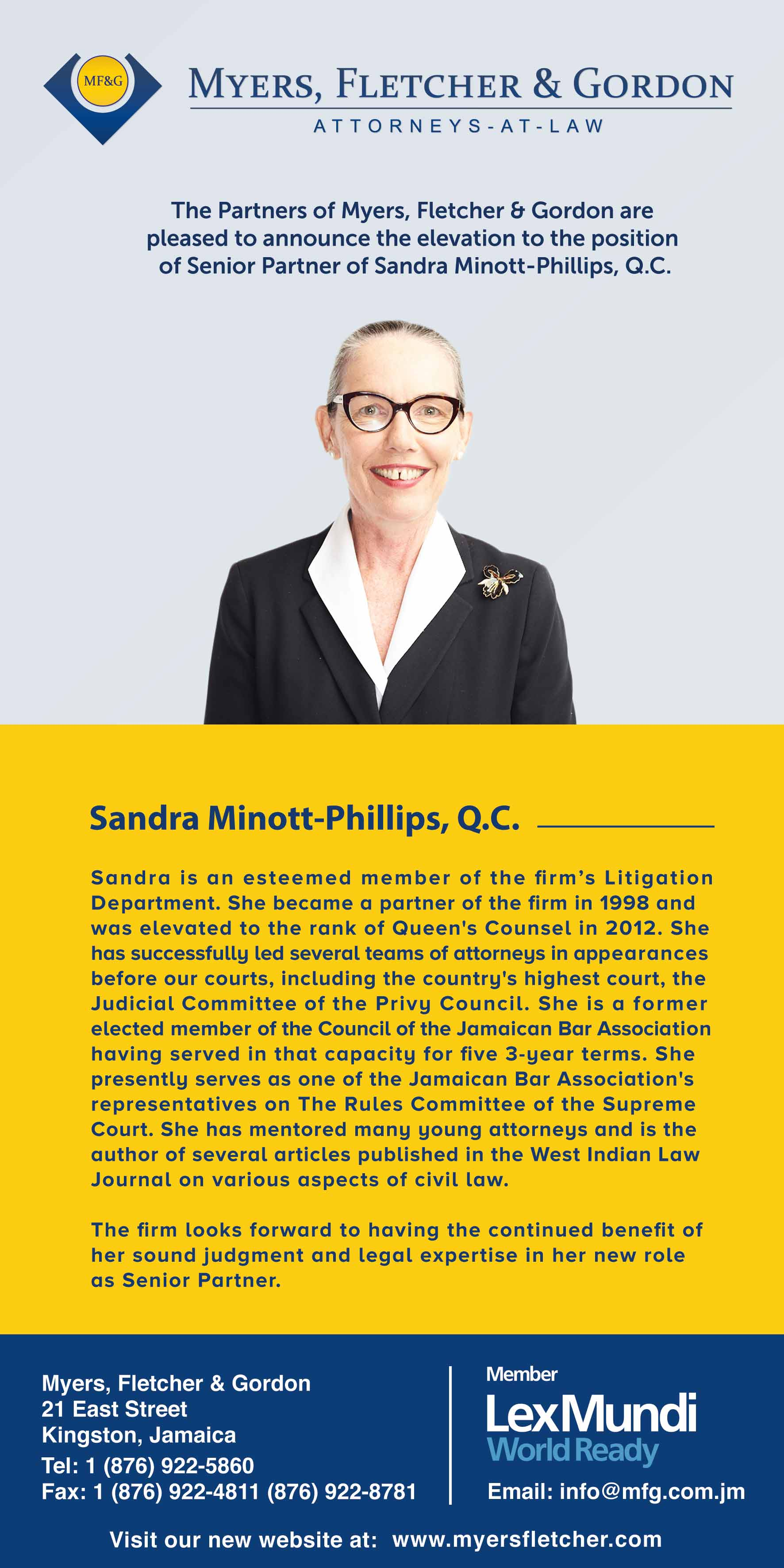 S phillips senior partner announcement print web
