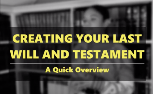 Creating Your Last Will and Testament